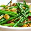 Wok stir fry with selective focus — Stock Photo #5709302