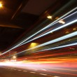 Fast moving cars at night — Stock Photo #5773757