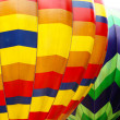 Photo of color hot air balloon and sunny day — Stock Photo