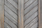 Old wooden palisade — Stock Photo