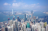 Hong Kong at morning — Stock Photo