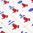 Stock Photo: Mahjong tiles