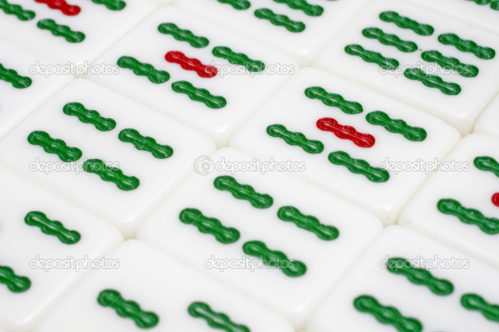 Mahjong tiles  Stock Photo #6063201