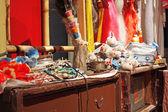 Chinese opera dressing room — Stock Photo