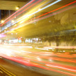 Fast moving cars at night — Stock Photo #6115873