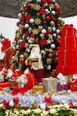 Christmas theme: Santa gifts, — Stock Photo