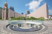 Architecture structure of Hong Kong Cultural Centre over blue sk — Stock Photo