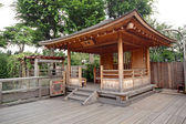 Wood Pavilion — Stock Photo