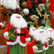 Christmas theme: Santa gifts, — Stock Photo