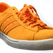 Orange shoe — Stock Photo