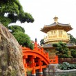 The Pavilion of Absolute Perfection in the Nan Lian Garden, Hong - Stock Photo