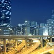 Traffic in downtown of Hong Kong — Stock Photo #6256211