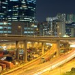 Traffic in downtown of Hong Kong — Stock Photo #6256335