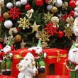Christmas theme: Santa gifts, — 图库照片