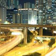 Traffic in downtown of Hong Kong — Stock Photo #6256428