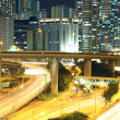 Traffic in downtown of Hong Kong - Stock Photo
