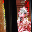 Chinese dummy opera, looking after the stage - Stock Photo