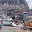 Scrap yard recycling - Stock Photo