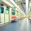 Foto de Stock  : Subway inside