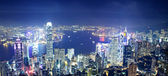 Hongkong nacht — Stockfoto