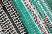 Sitio de construcción de apartamentos privados — Foto de Stock