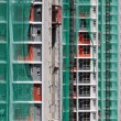 Stock Photo: Construction site of private apartments