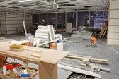 Interior construction site — Stock Photo