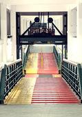 Largo camino ferry Junta — Foto de Stock