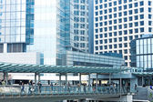 Modern overpass in building — Stock Photo
