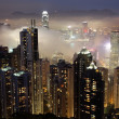 Hong Kong at night — Stock Photo #5687475