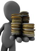 Kleine geld — Stockfoto