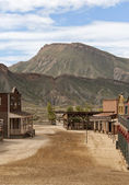 Western Town Movie Set — Stock Photo
