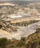 High Speed Railway Line Construction Site — Foto Stock