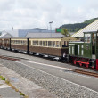 Vale of Rheidol Railway line Shunt Train — Stock Photo