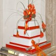 Close up of a wedding cake — Stock Photo #6284960