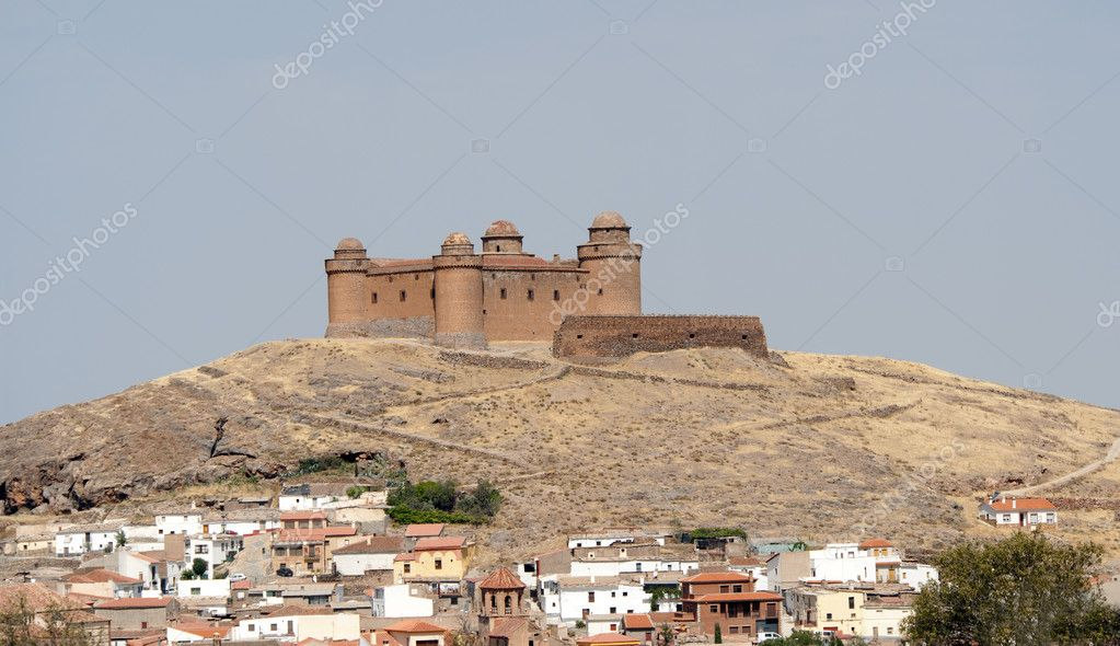View of the La Calahorra Castle, Granada Province, Andalusia, Spain — Stock Photo #6497922