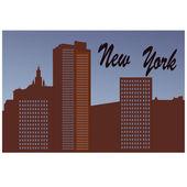 New York — 图库矢量图片