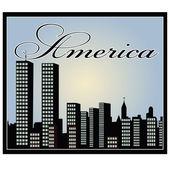 America — Stock Vector
