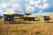 Buddhist Temple in Mongolia — Stock Photo