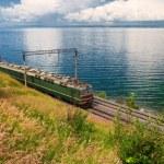 Train on Trans Baikal Railway — Stock Photo