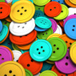 Multicolored buttons for clothing — Stock Photo #5467300