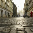 Street Lviv — Stock Photo