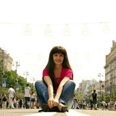 Relax in the street — Stock Photo