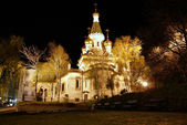 Sacred Nikolay's temple in Sofia — Stock Photo