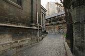 Alley in Lviv — Stock Photo
