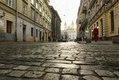 Street Lviv — Stock Photo