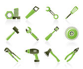 Different kind of tools icons — 图库矢量图片