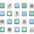 Business and Office tools icons — ベクター素材ストック