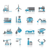 Business and industry icons — Vecteur