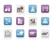 施工和建筑图标 — 图库矢量图片